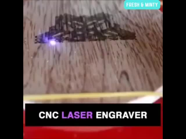 Glass etching engraving machine laser wood cutting 1500mw USB Laser Engraver Automatic Carver
