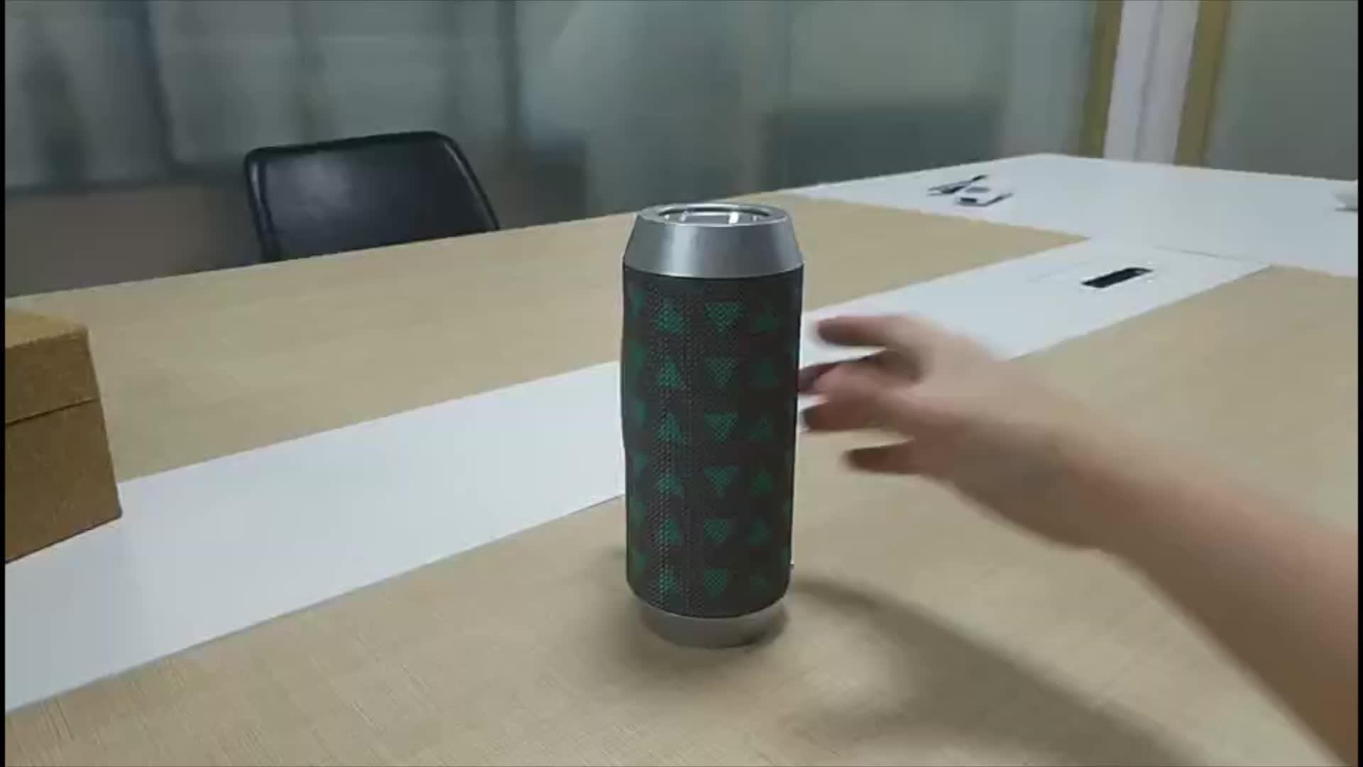Shenzhen portable home wireless usb stereo speaker with fm
