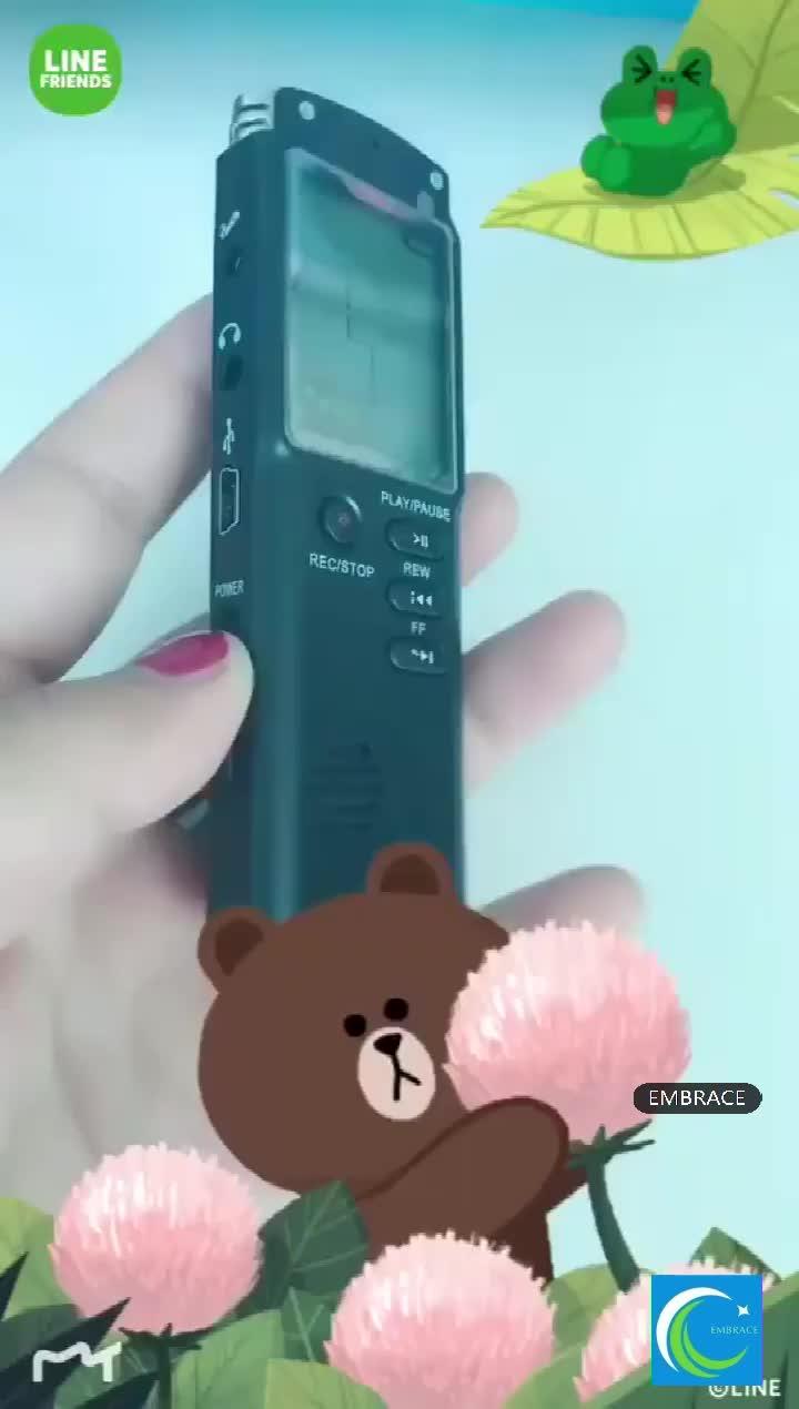 2019 tendências de mini gravador de voz gravador de áudio gravador de voz digital 8 gb 1536 kbps