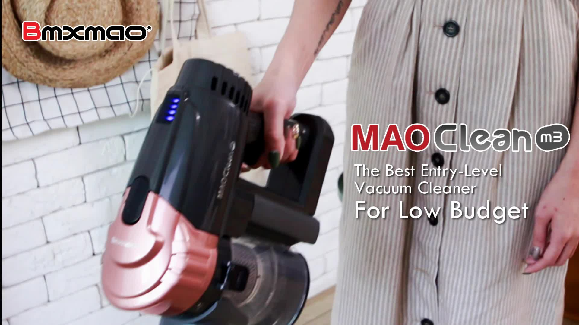MAO Clean M3 16000Pa Cordless Cyclone SuctionワイヤレスVacuum Cleaner