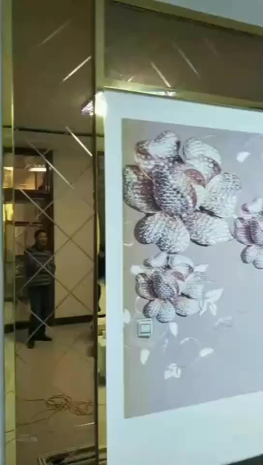 เครื่องพิมพ์ผนังความละเอียดสูงเครื่องพิมพ์อิงค์เจ็ทผนัง3dสำหรับเครื่องพิมพ์ผนังภาพจิตรกรรมฝาผนัง