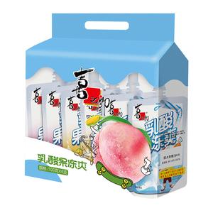 【100g*6支】猫超包邮喜之郎吸的果冻