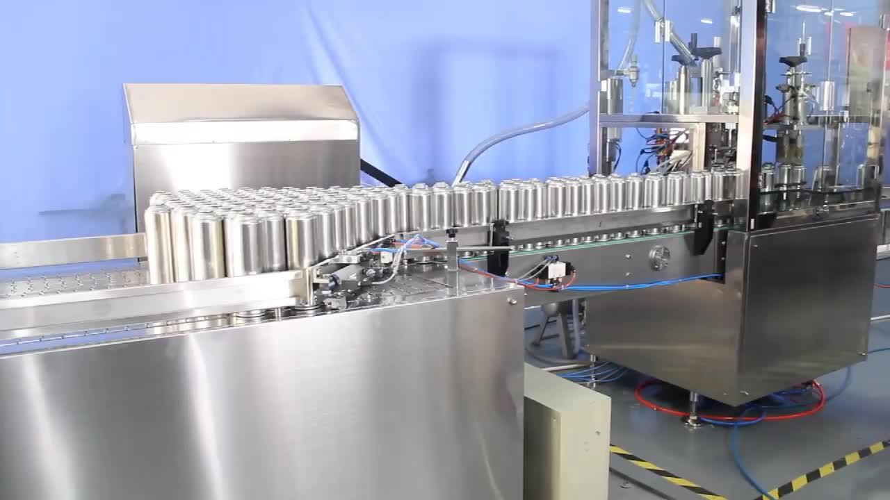 High quality sun spray can aerosol filling machine /Shaving gel aerosol filling and crimping machine