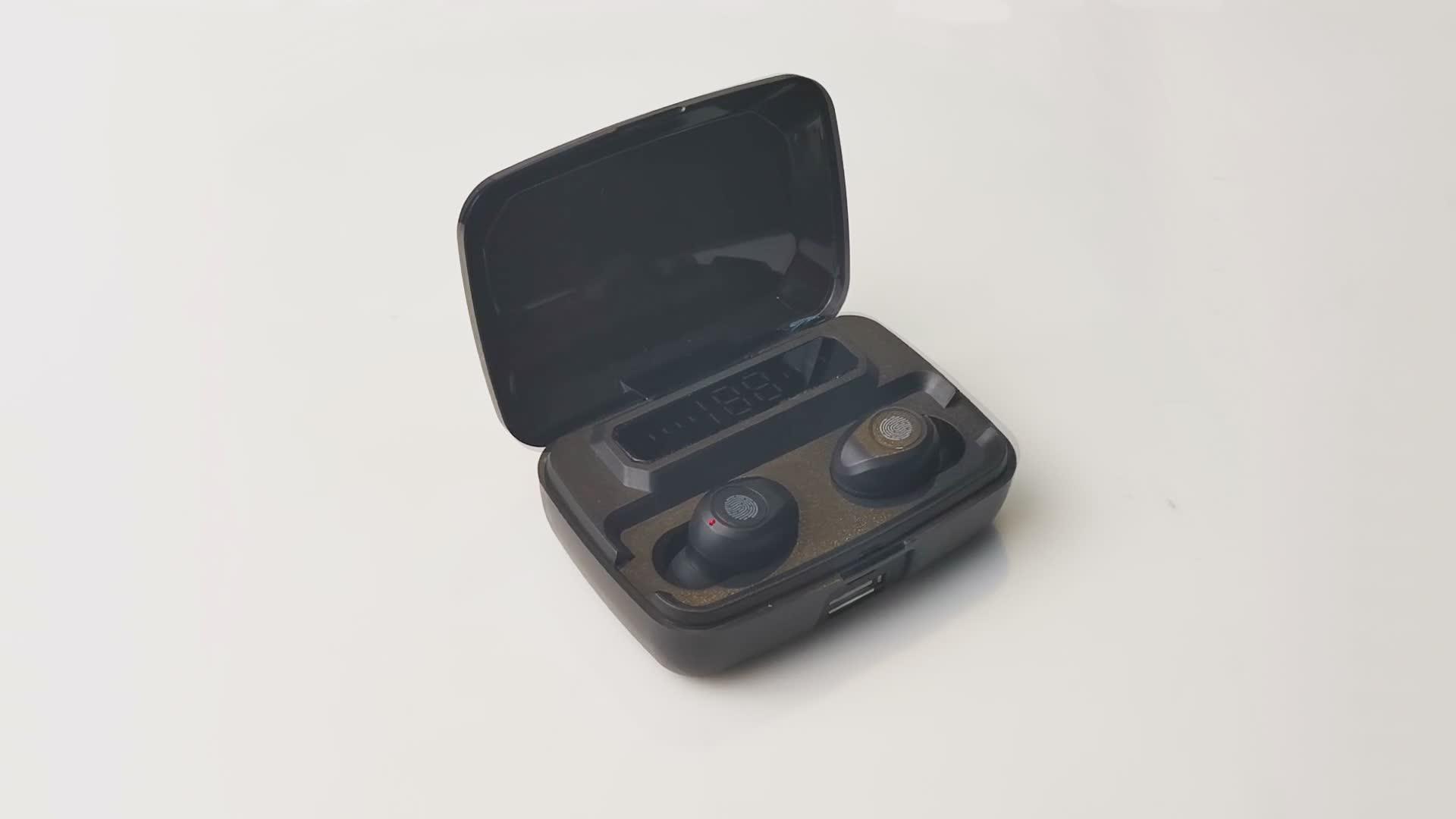 Earphones wireless ear pod M8W button headphone phones earbuds Good Sound Quality Wireless Stereo Headphone Headset