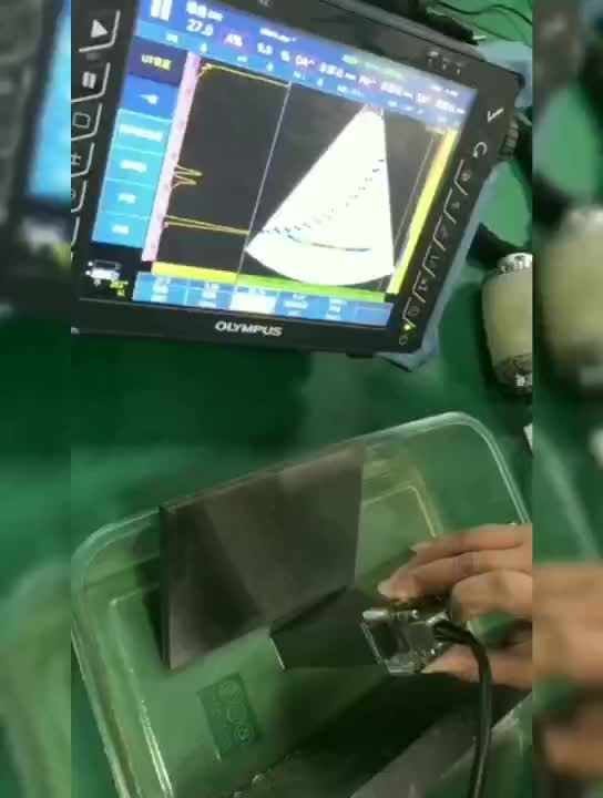 7.5Mhz Handheld Linear Ultrasound Linear Probe For Aircraft Inspection