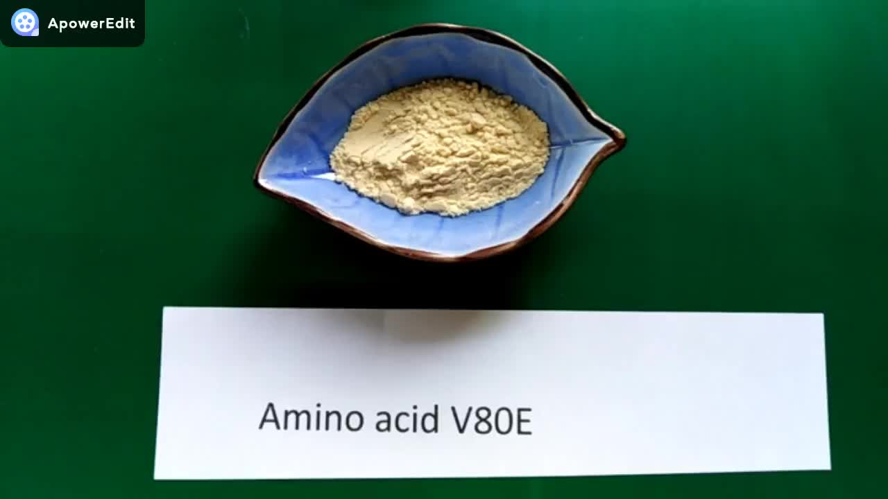 Compound amino acid powder PLANTAMIN-V80E enzymolysis with over 17 single amino acids organic fertilizer