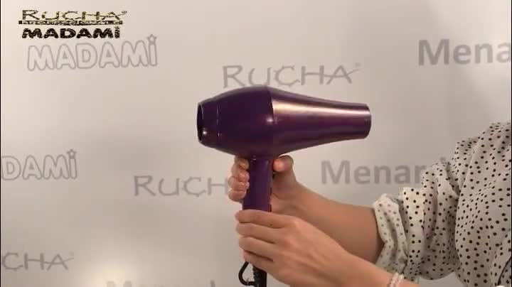 High Technology Compact Hairdryer 2000W Salon Hair Dryer With Infrared Function
