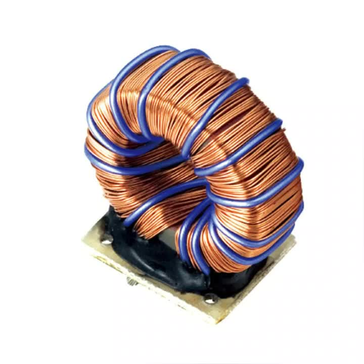 inductor common mode choke coil magnetic ferrite core