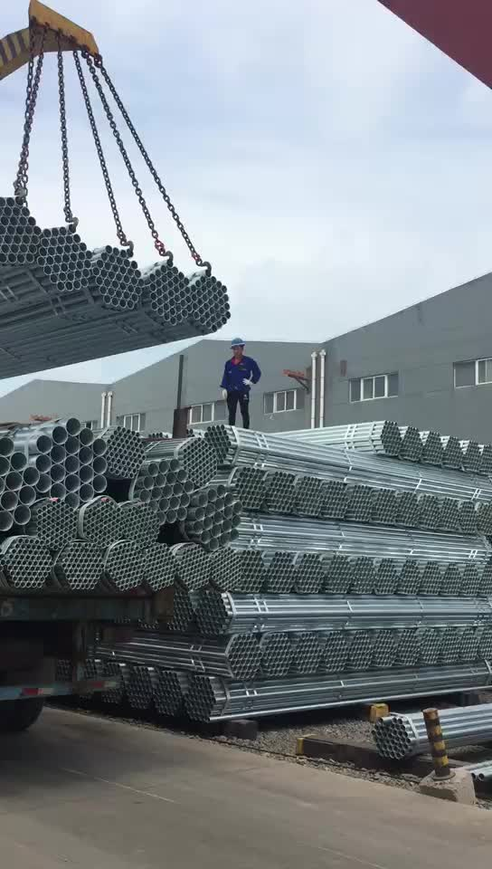 BS4568 class 4 electrical wire conduit hot galvanized steel pipe