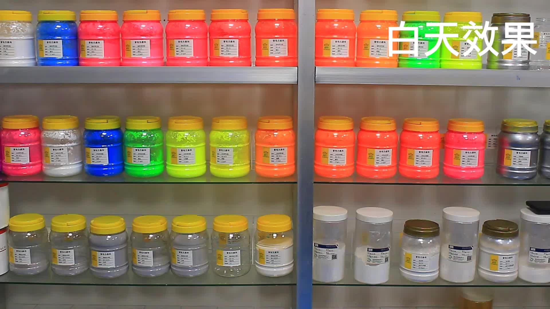 Organische Fluorescerende Pigment Poeder, hars Fluorescerende Pigment