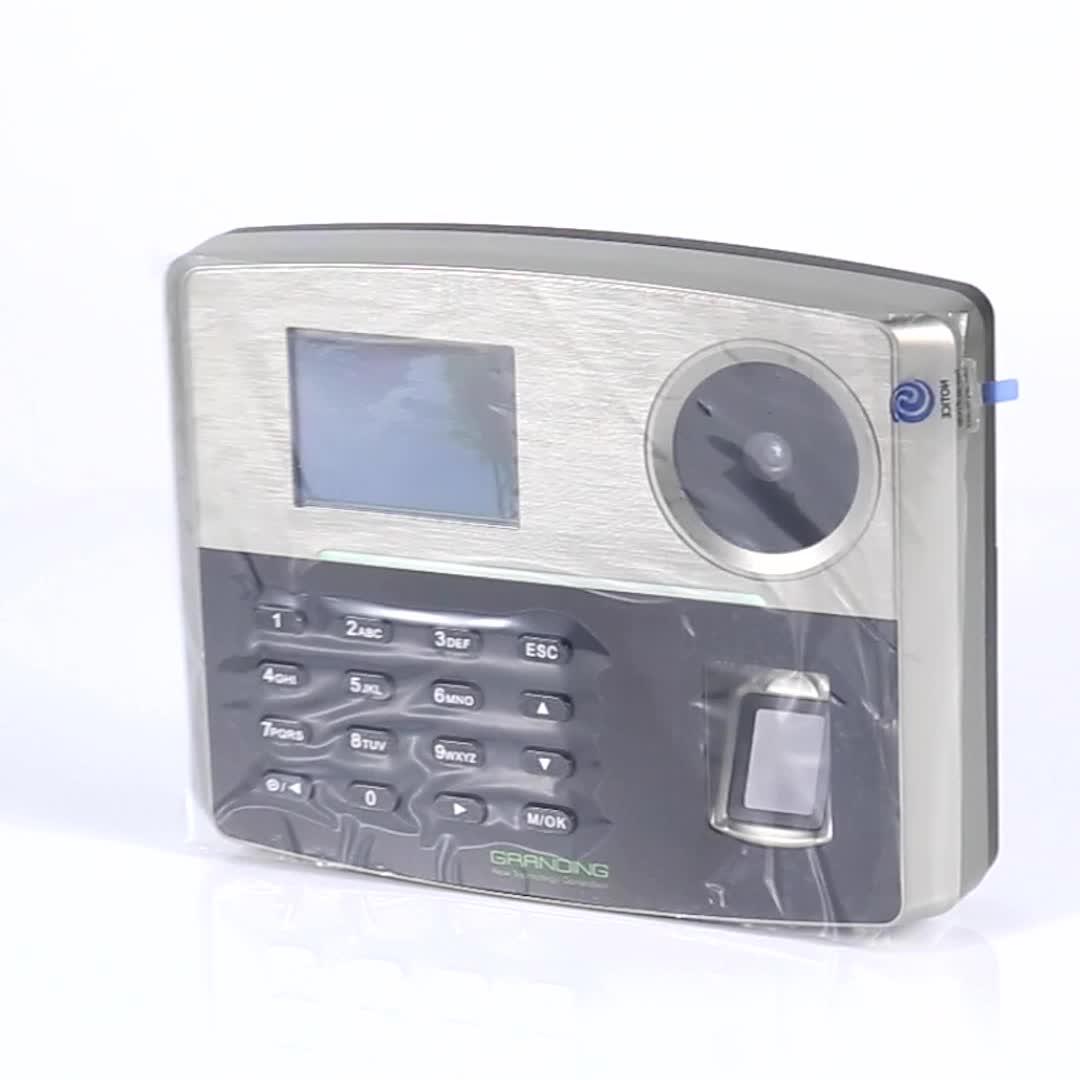 Anti-fake SilkID fingerprint reader optional GPRS time attendance POE and backup battery