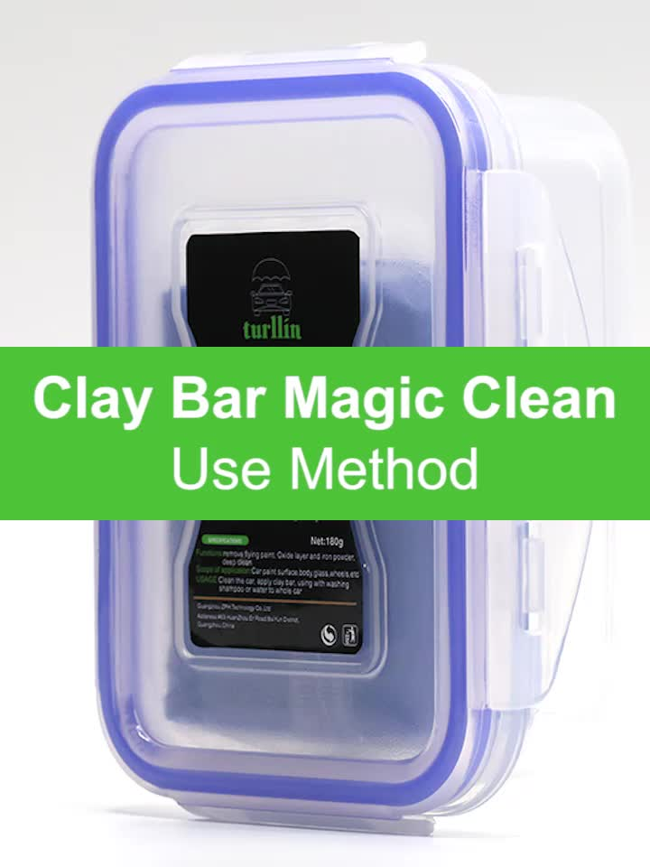 180g Wholesale Auto Clean Car Washing Magic Clay Bar Car Care Products to Remove Oxide Layer For Auto Care