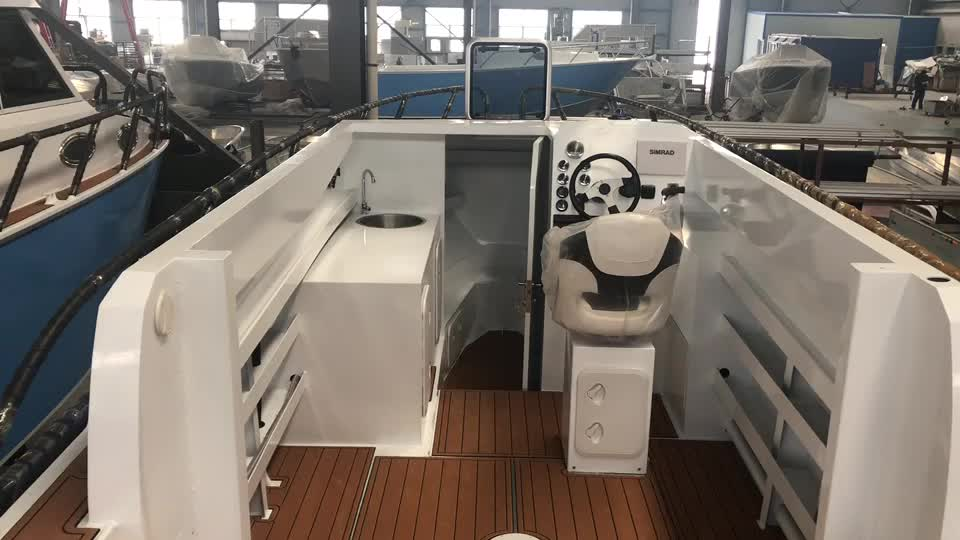 7.5m Lifestyle Sport Yacht New Offshore Fishing Boat for sale