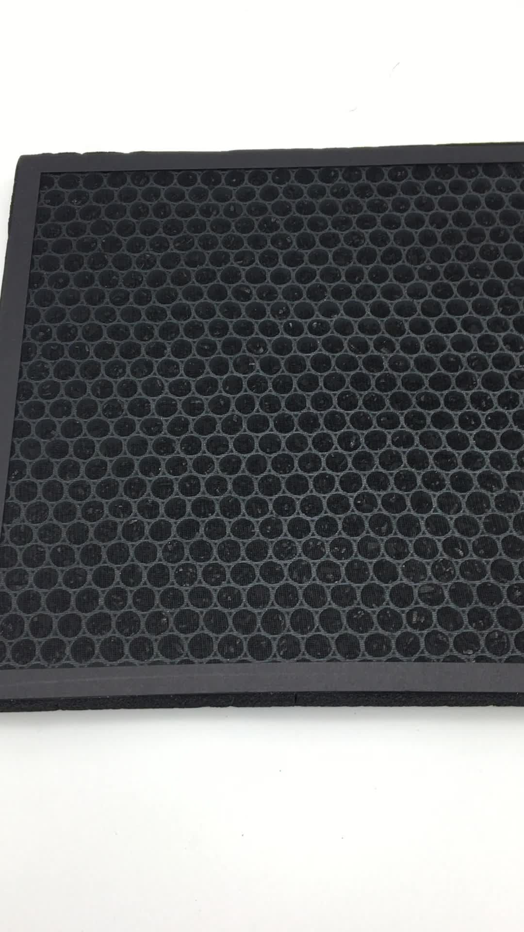 honeycomb activated carbon HEPA filter for home air purifier
