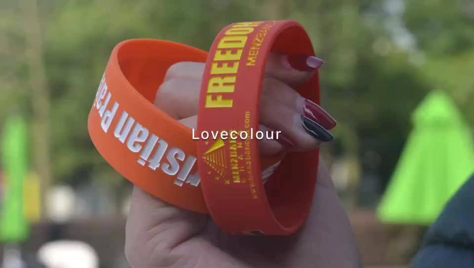 Articles cadeaux bon marché nouveau silicone bracelet bracelets/bracelet en silicone personnalisé