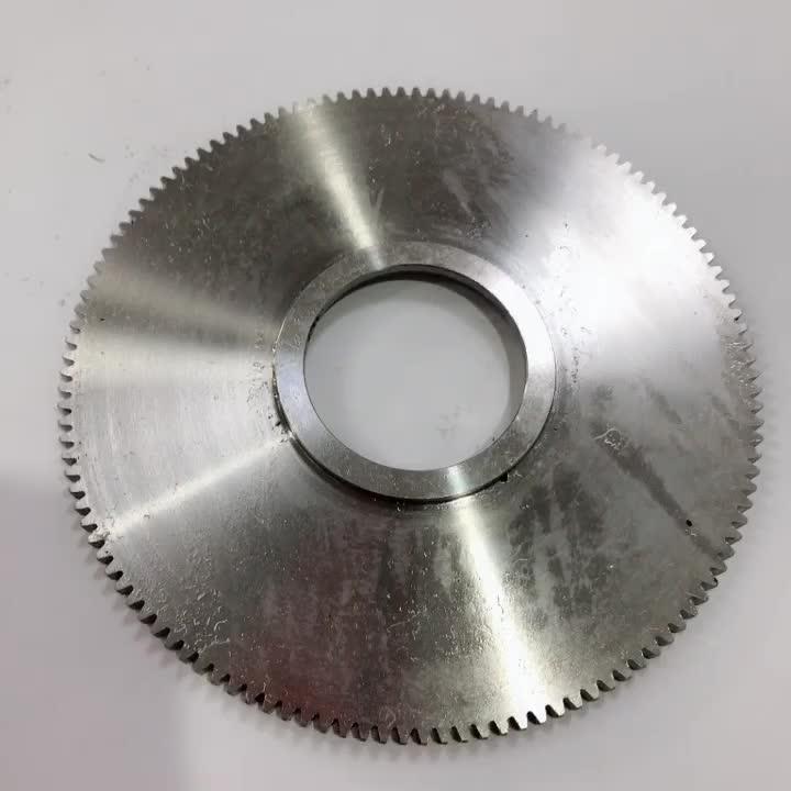 Engrenagem de dente reto de grande diâmetro de engrenagens de usinagem CNC