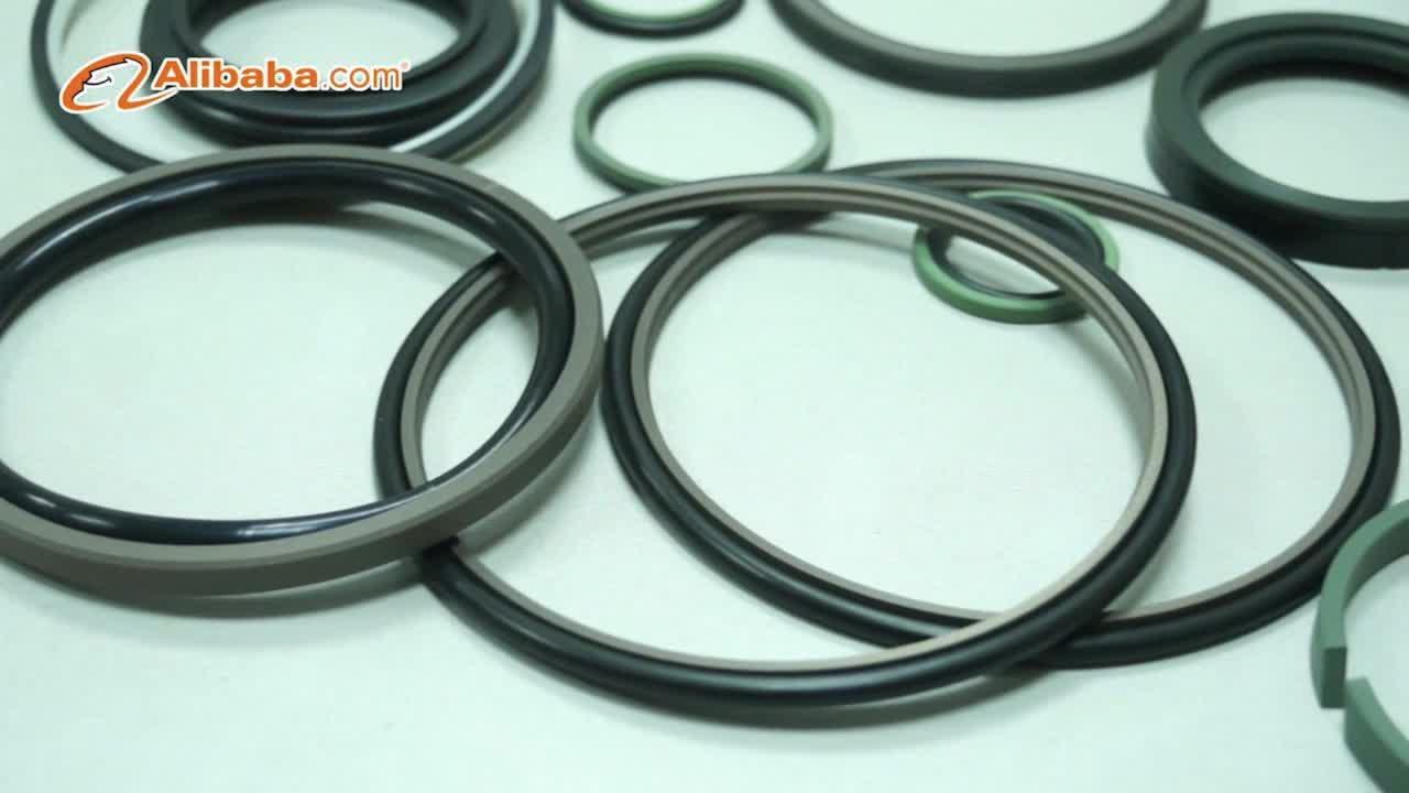 JST seals custom dimension circle shape PTFE hydraulic cylinder rod seals