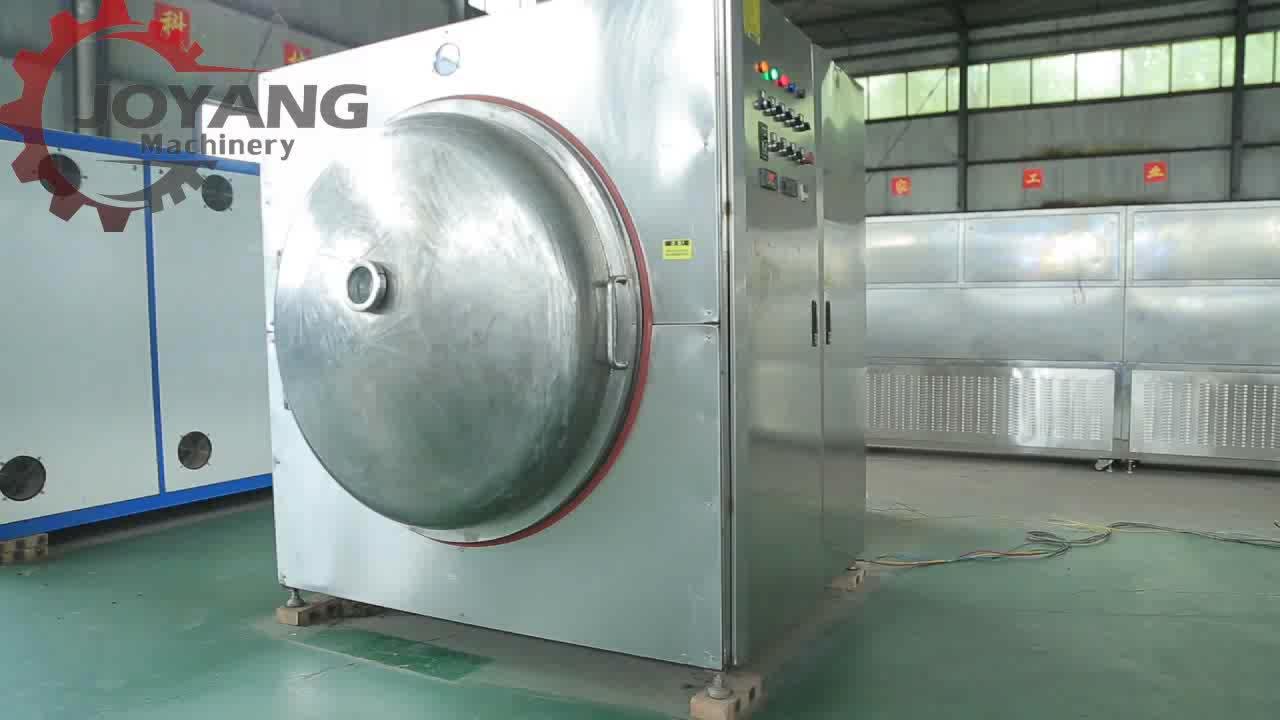 Veiligheid Kabinet Industriële Magnetron Vacuüm Droger Oven Voor Voedsel Materialen