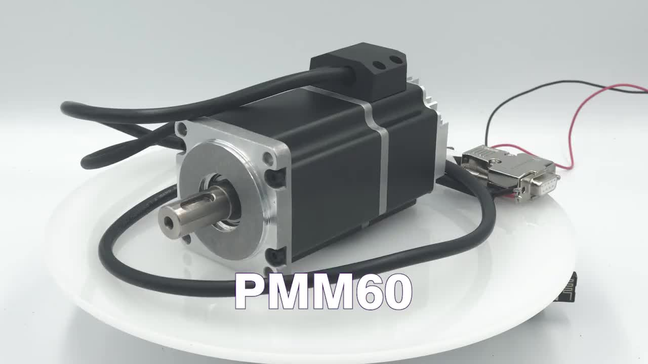 China supplier three Phase 60mm 200w dc integrated Servo Motor with driver kit