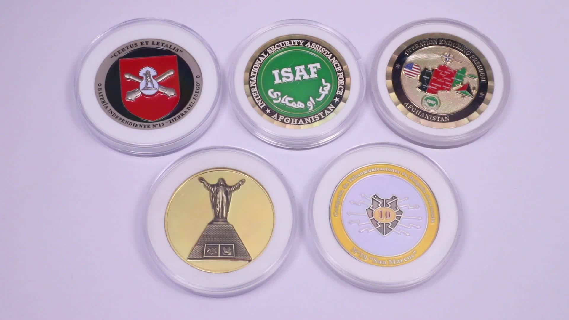 Factory manufactures hot-selling antique custom metal casting coins