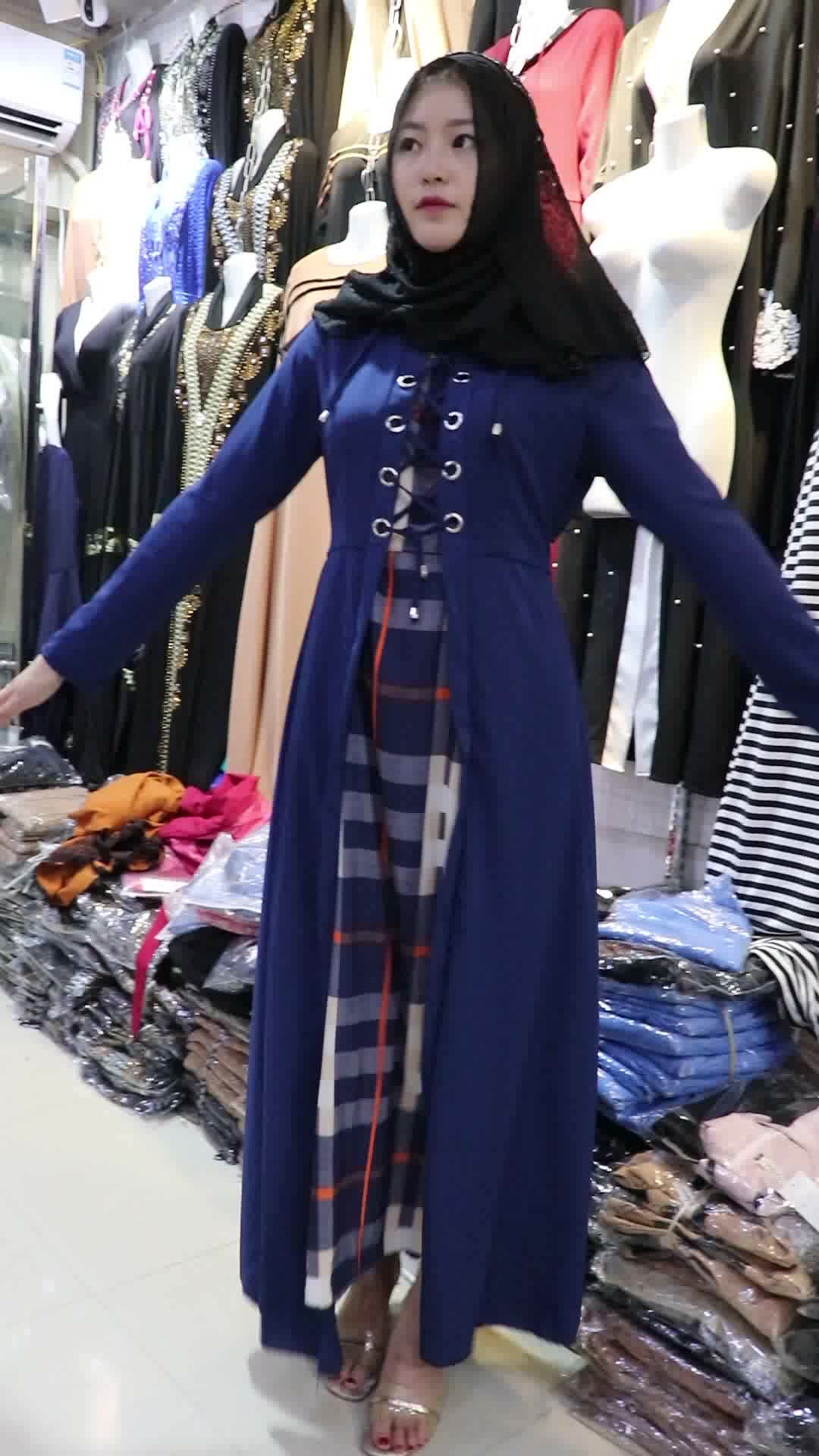 2017 nouveau design caftan burqa design de mode dubaï maxi musulman abaya robe