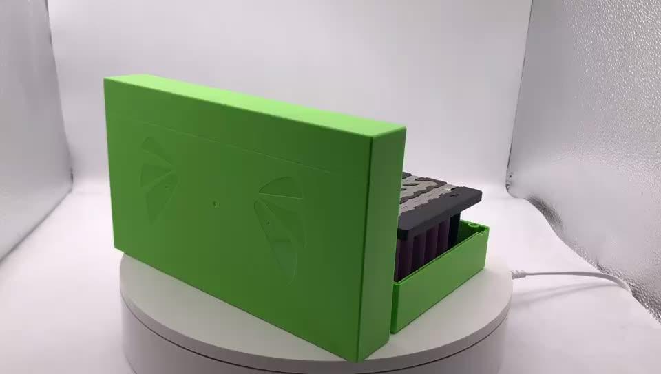 니켈 스트립 셀 홀더 상자 배터리 팩 충전식 리튬 배터리 18650 배터리 팩 케이스