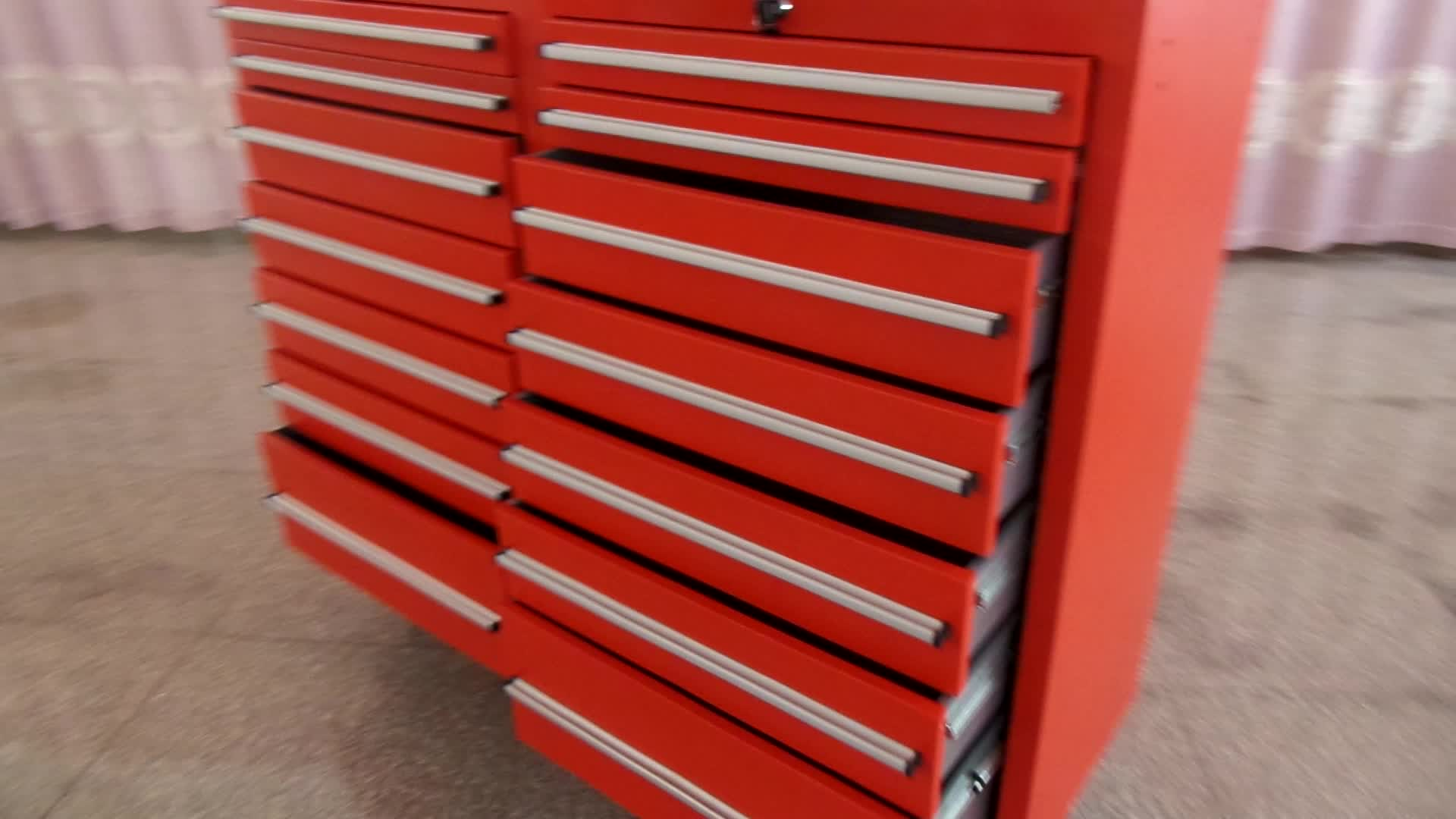 14 Drawers Mobile Metal Tool Cabinet Tool Trolley Tool Chest