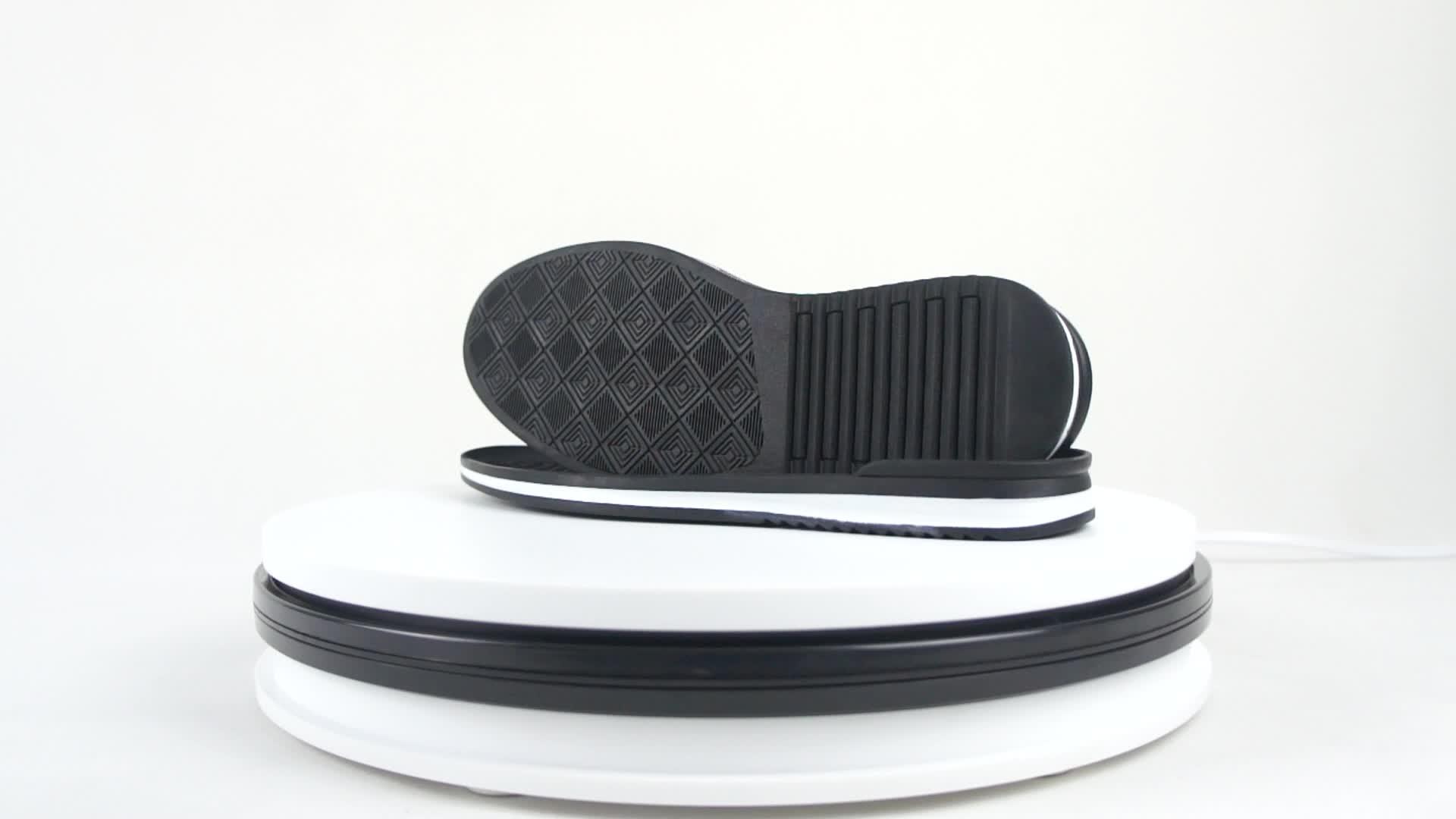 customized  comfortable  rubber sole for the men suelas de goma para zapatos