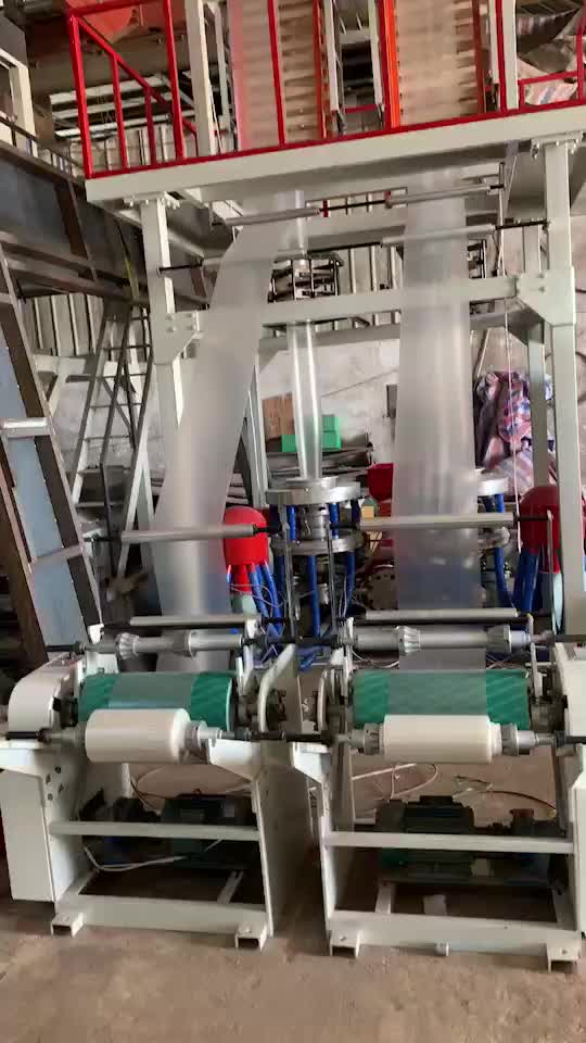 Tek vidalı çift kafa LDPE Film üfleme makinesi kalıp kafası