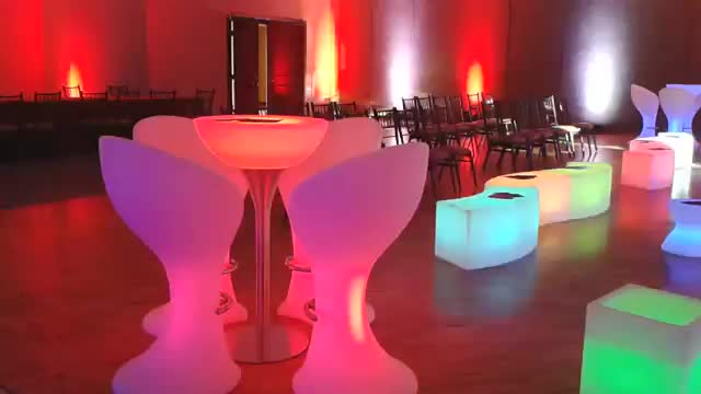 rgb lights out led furniture Cheap Wholesale from china factory