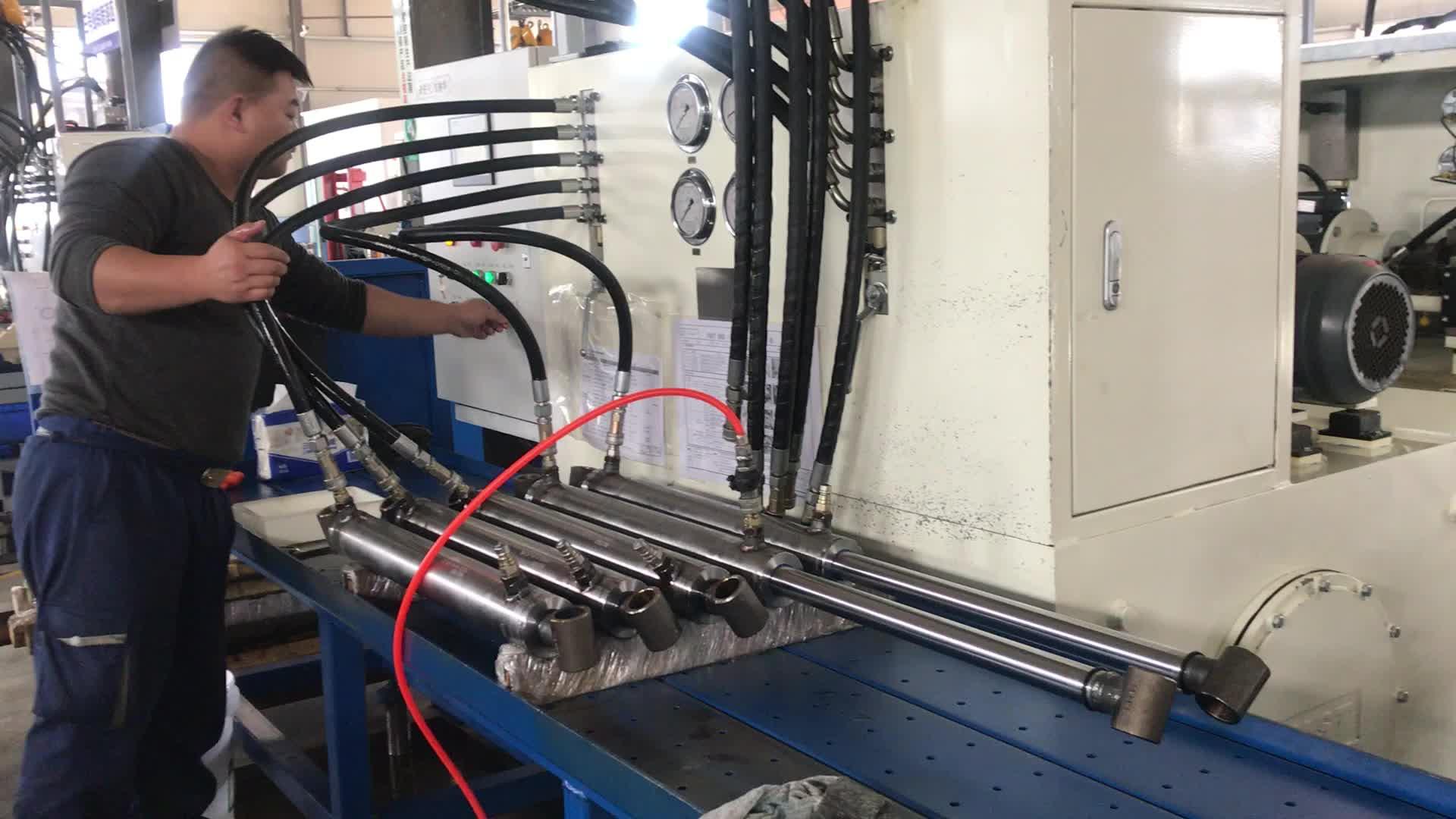 Cylindre hydraulique de porte arrière pour camion à ordures