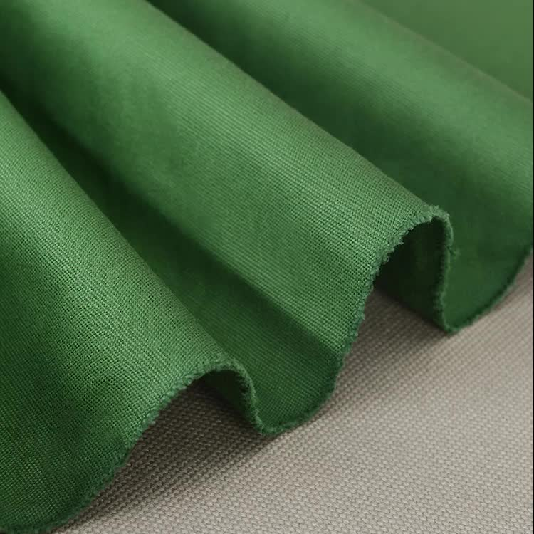 China bag material 8oz duck canvas dyed fabric in 100% cotton for fabric shopping bag