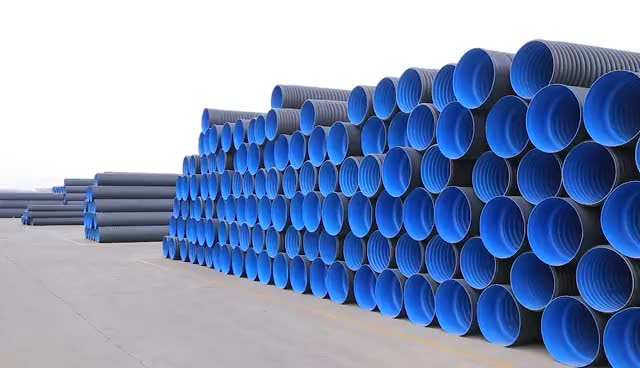 DN200,SN8 hdpe corrugated pipes price