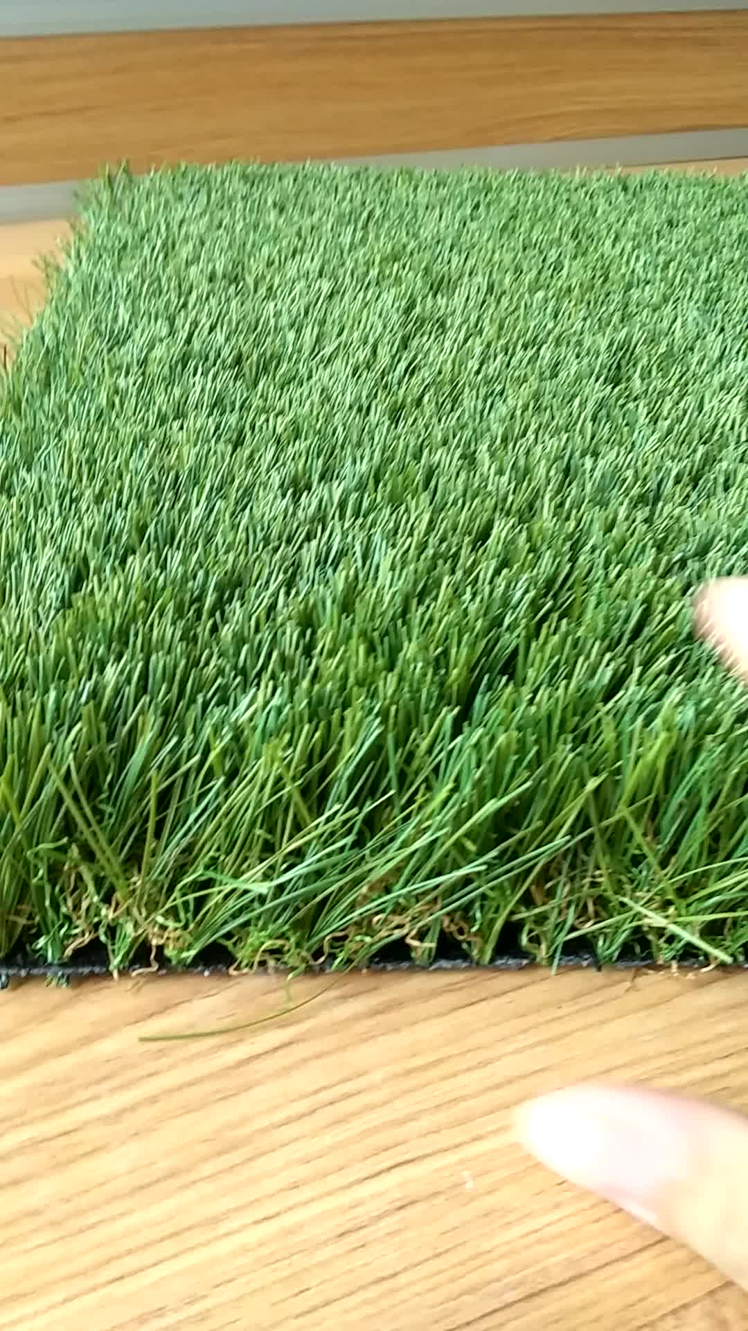 Customization pile height landscape artificial grass carpet for garden