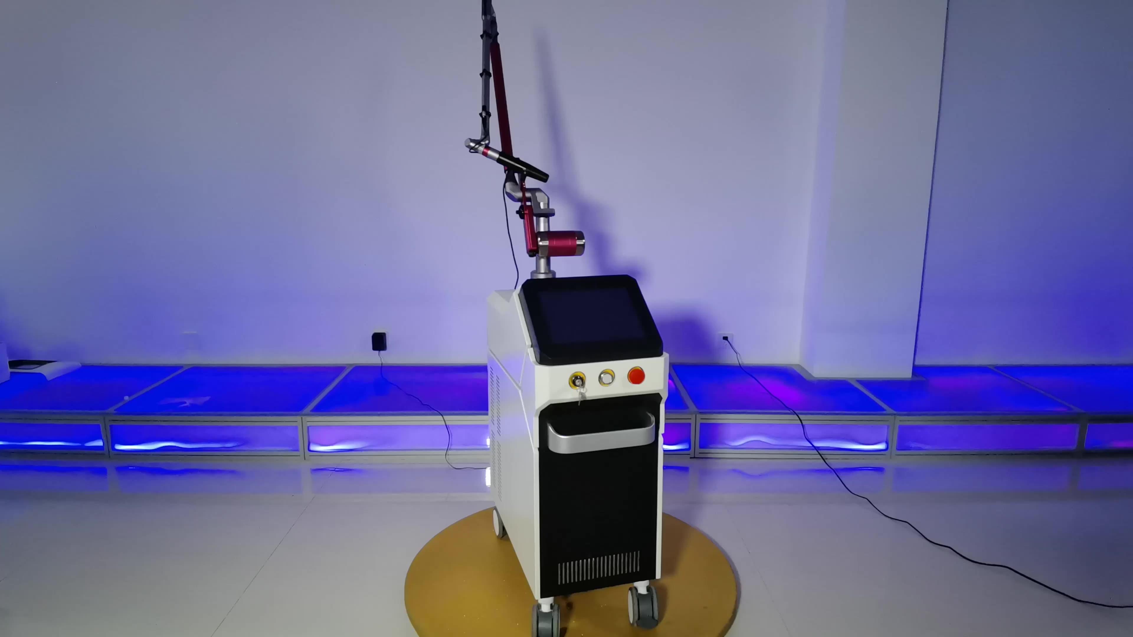 Portable 1064nm 532nm chloasma removal picosecond laser machine