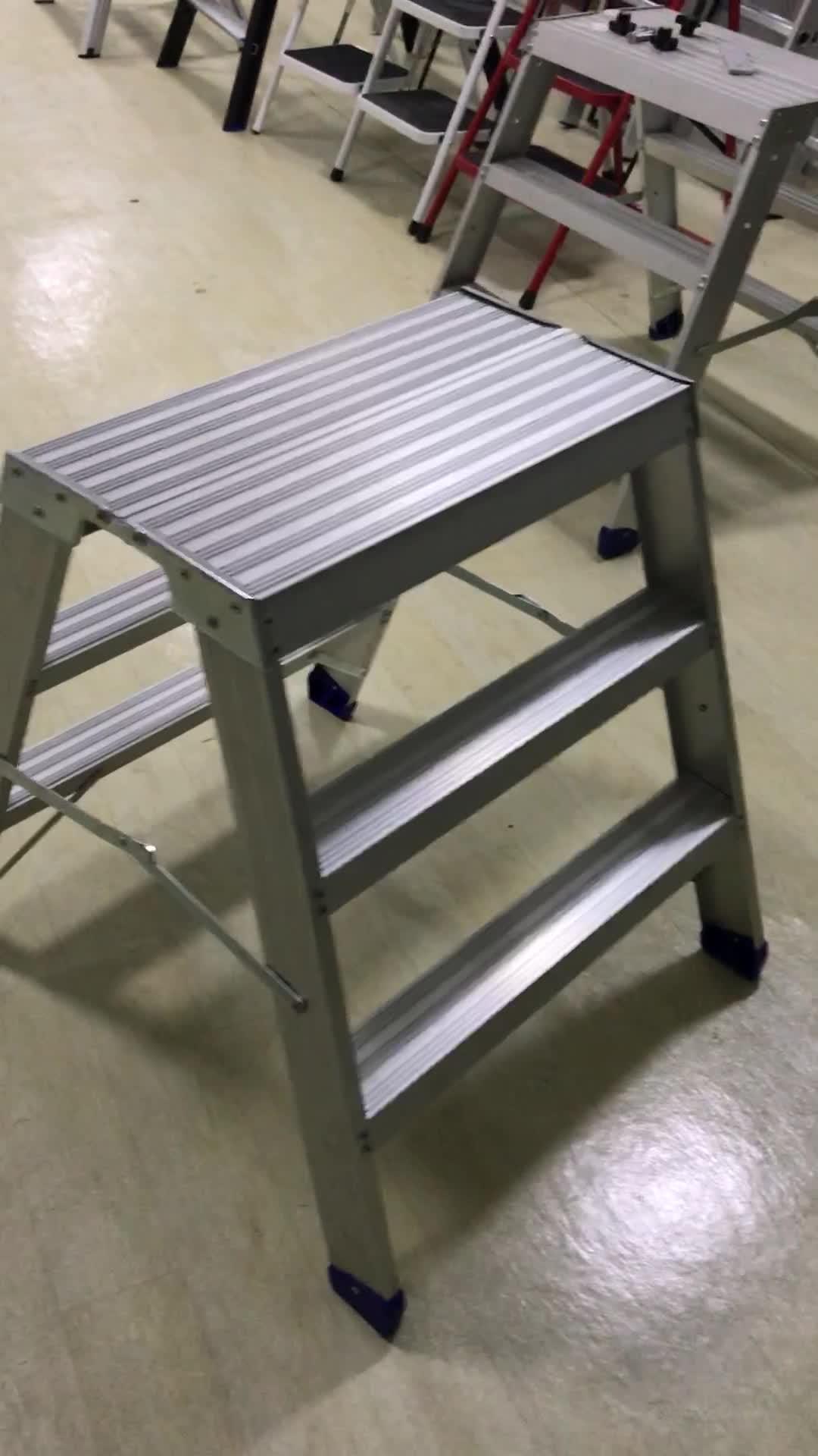 2 stap CE gecertificeerd Veiligheid Aluminium Huishoudelijke Aluminium Stap Krukken Ladder krukken Stap Ladders Model: DX-A002