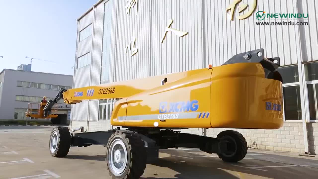 32m telescopic aerial work platform