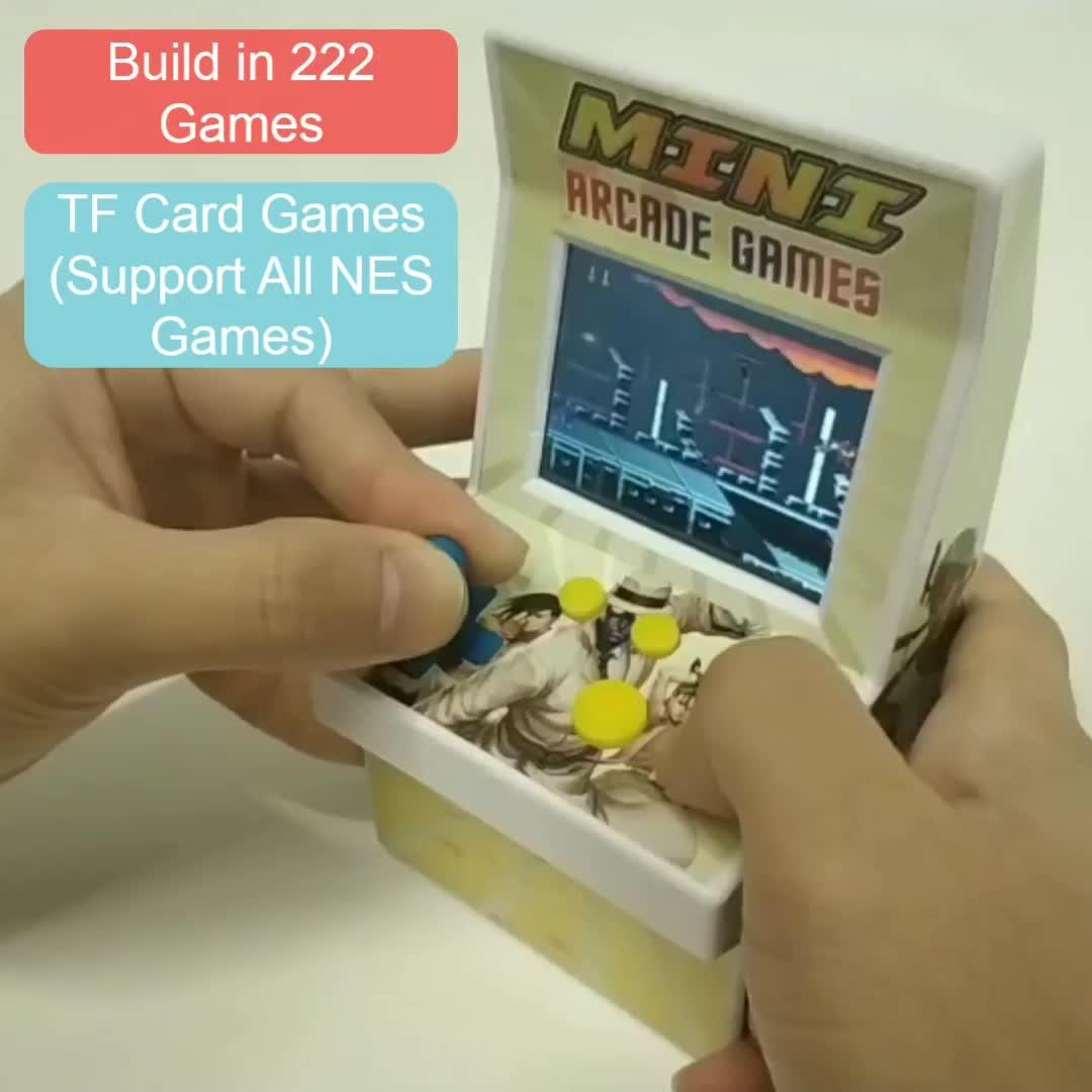 China cheap consola 8 bit mini arcade game for kid CT882T