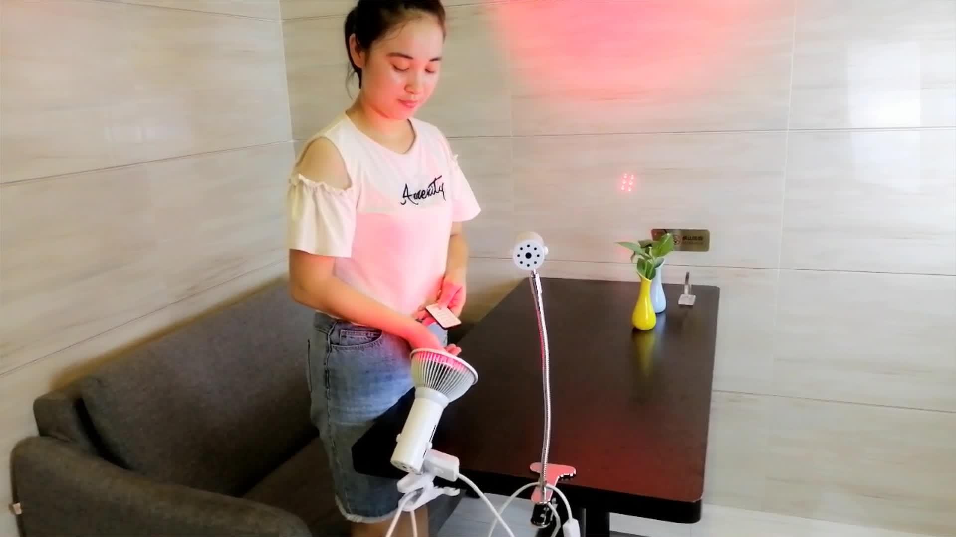 A mené la Machine Lampe Infrarouge Proche pour Douleurs Articulaires 660Nm 850Nm Panneau Médical Portatif Ampoule Équipement Pulsée Dispositif De Thérapie De Lumière Rouge