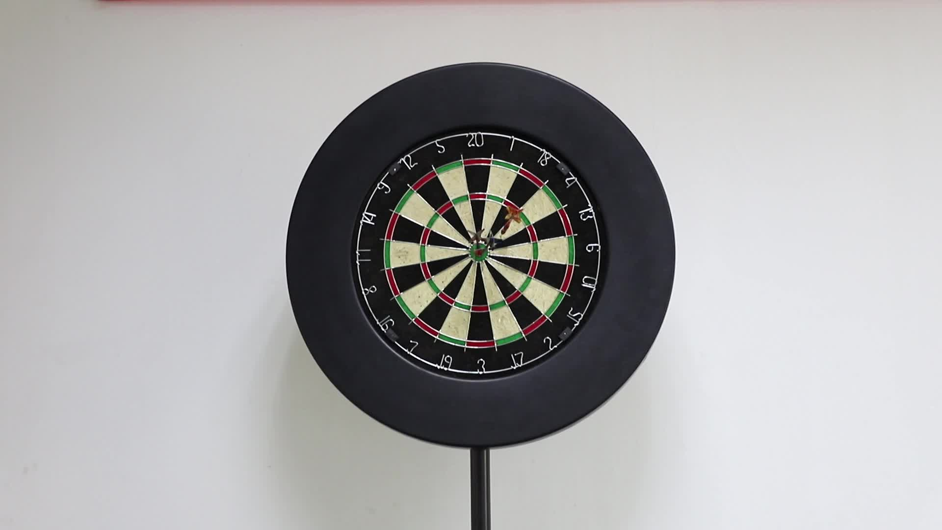 Custom printed PU dartboard surround for bristle board