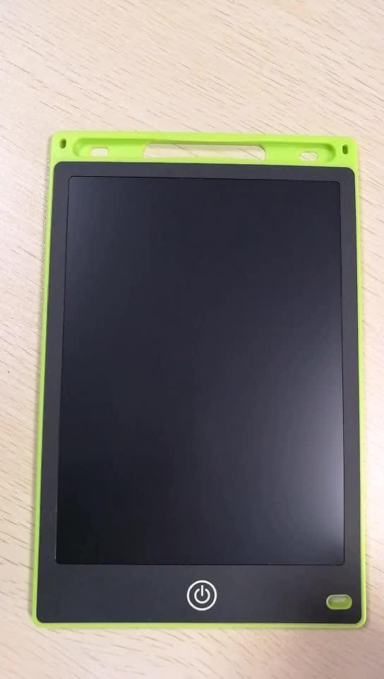 Çin fabrika toptan Silinebilir Bloknot 8.5 Inç Dijital Not Defteri okul Lcd Yazma Tablet Ile Bellek Kilidi Oyuncaklar Çocuklar Için