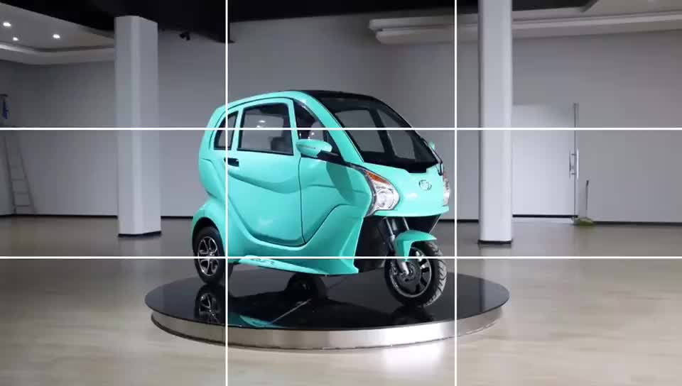 New design 4 wheel new energy electric vehicle mini car with EEC coming soon