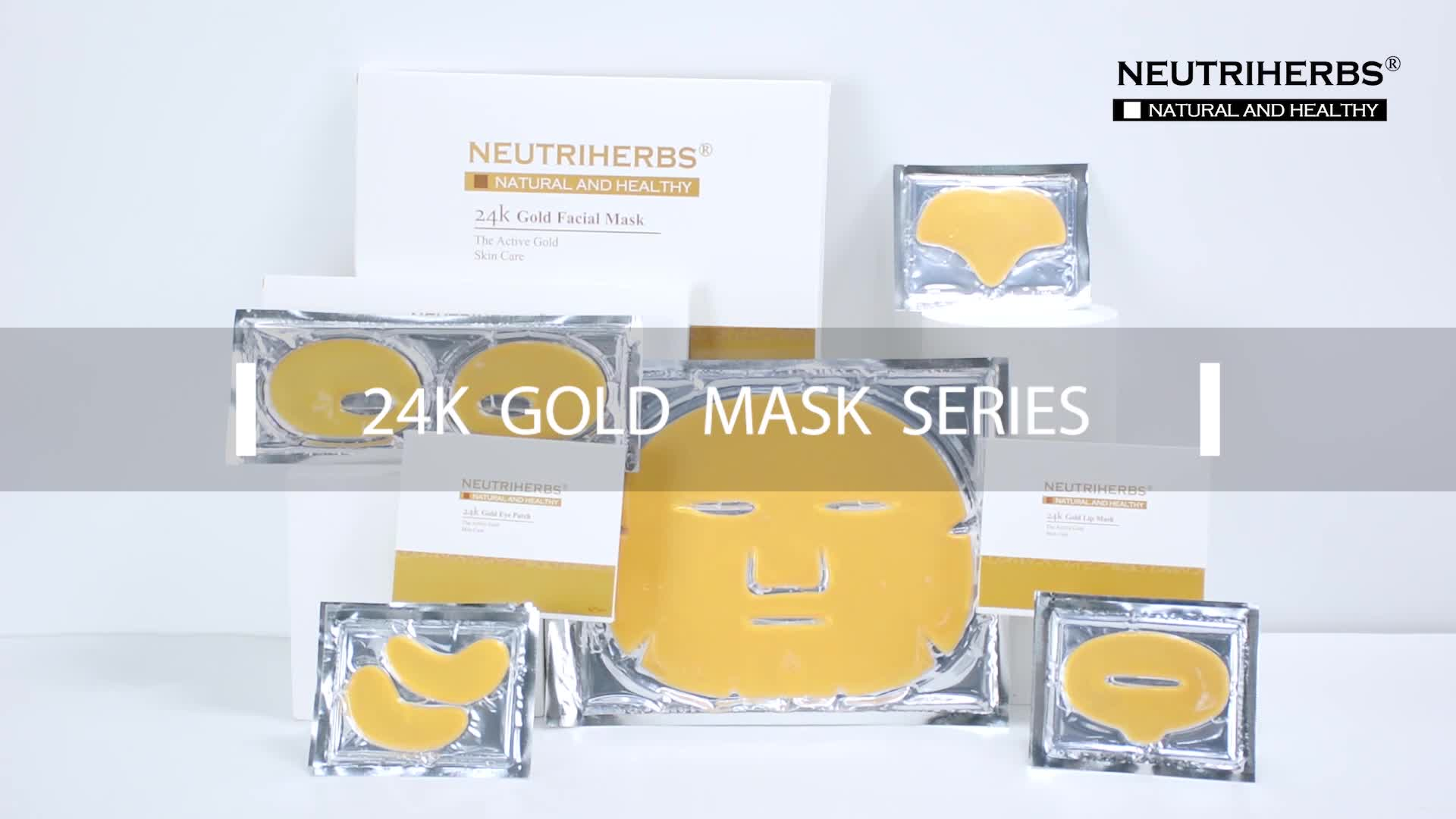 Wholesale 24k Gold Face Mask Collagen Reduce Fine Line Wrinkles Of Moisturizing,Antiaging,Anti-wrinkle Facial Mask