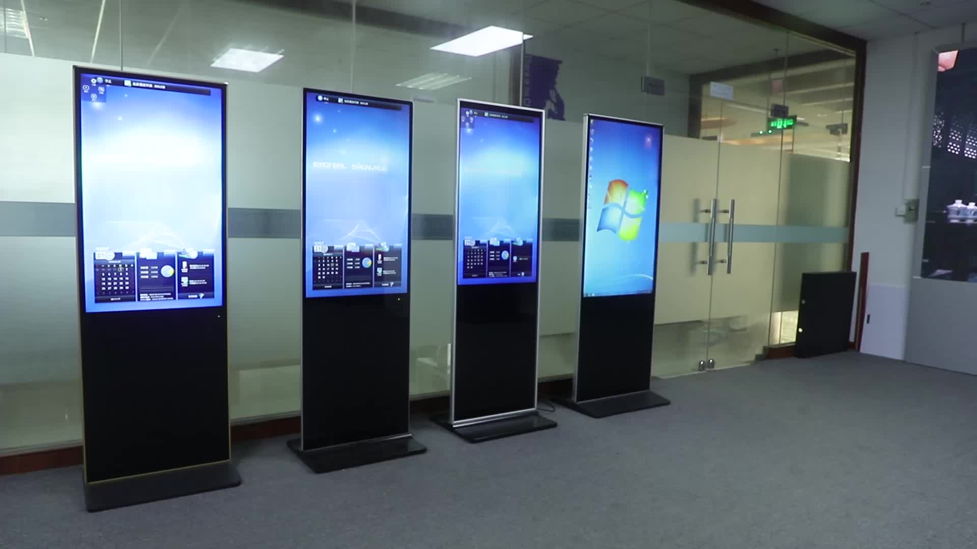 OEM advertising digital signage 42 7 inch android 43 portable