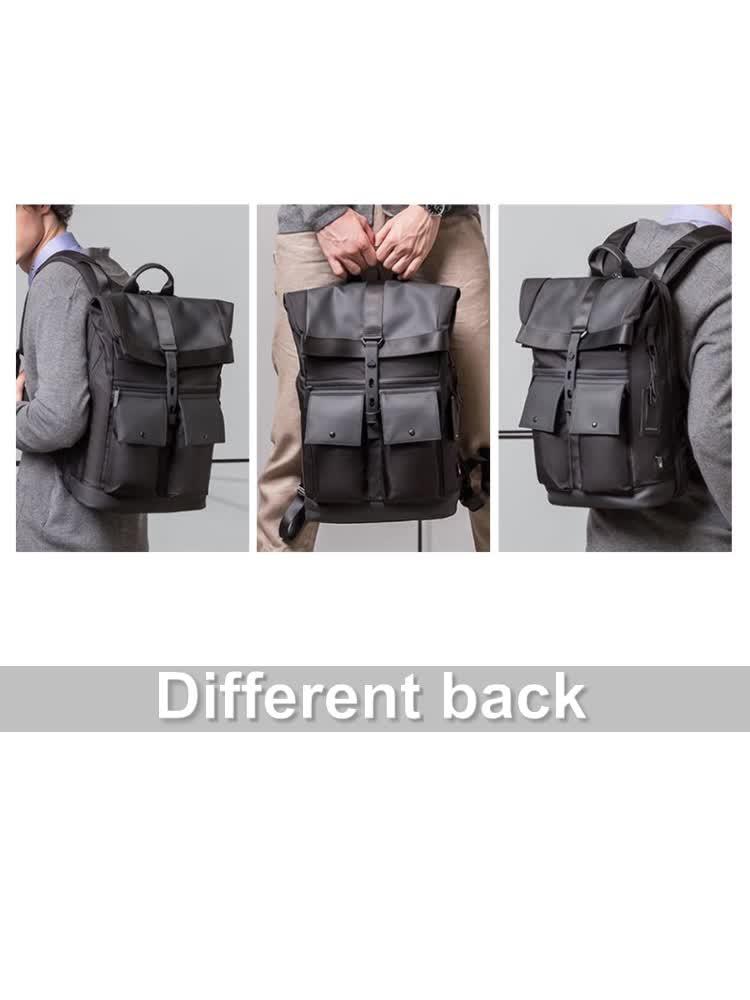 2020 yeni tasarım iş toptan katlanabilir akıllı erkekler moda su geçirmez anti hırsızlık seyahat özel dizüstü sırt çantası erkekler için
