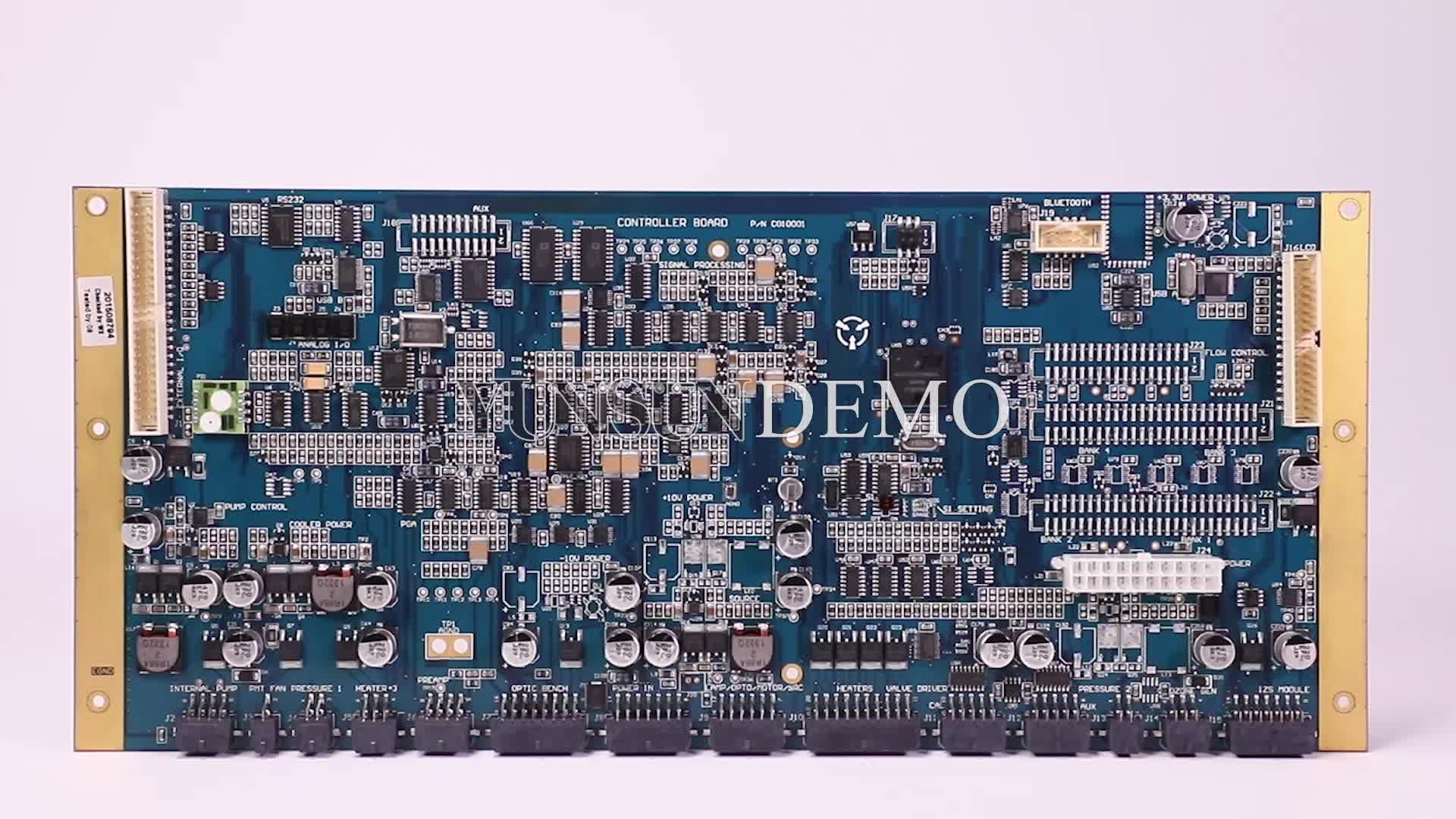 ブランク PCB ボード電子回路組立部品 LED Pcb アセンブリカスタム FR4 PCB メーカー