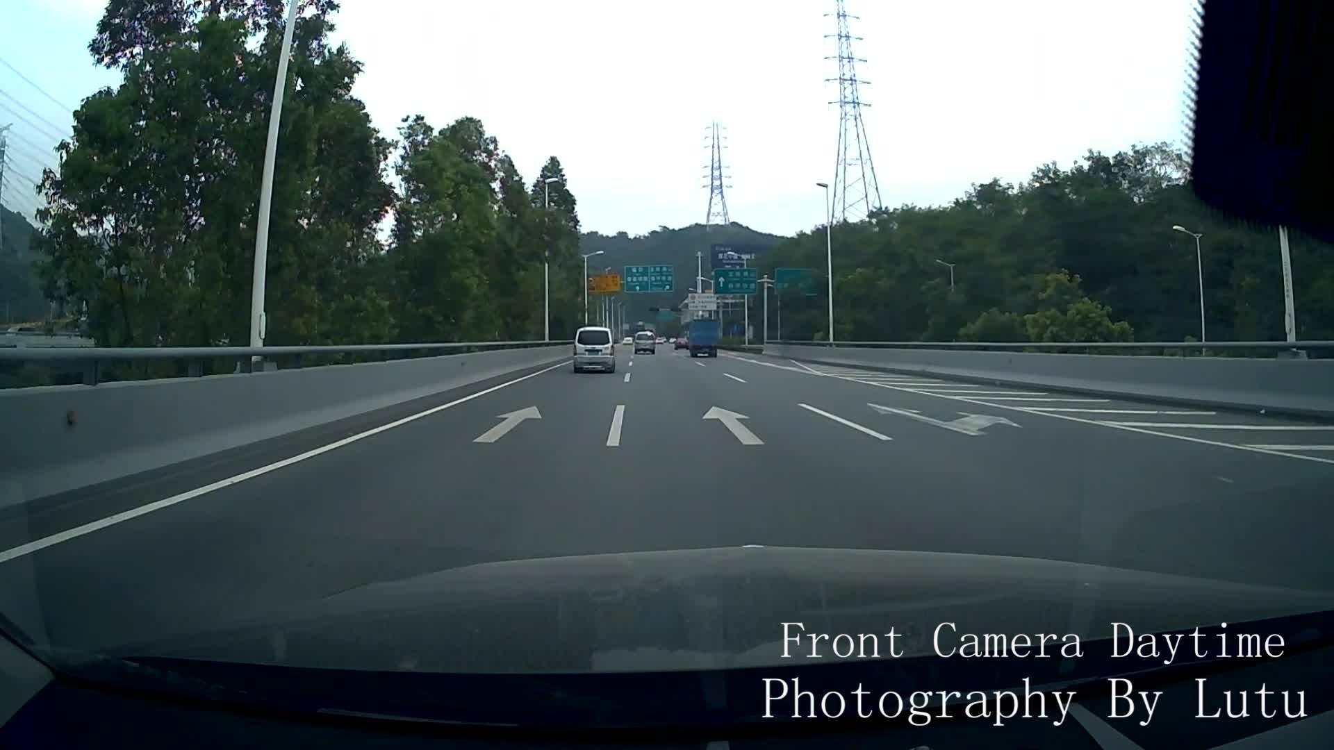 9.66 ''ストリーミングメディアバックミラー車 DVR デュアルカメラ 1080 p ダッシュカム Wdr と夜バージョン
