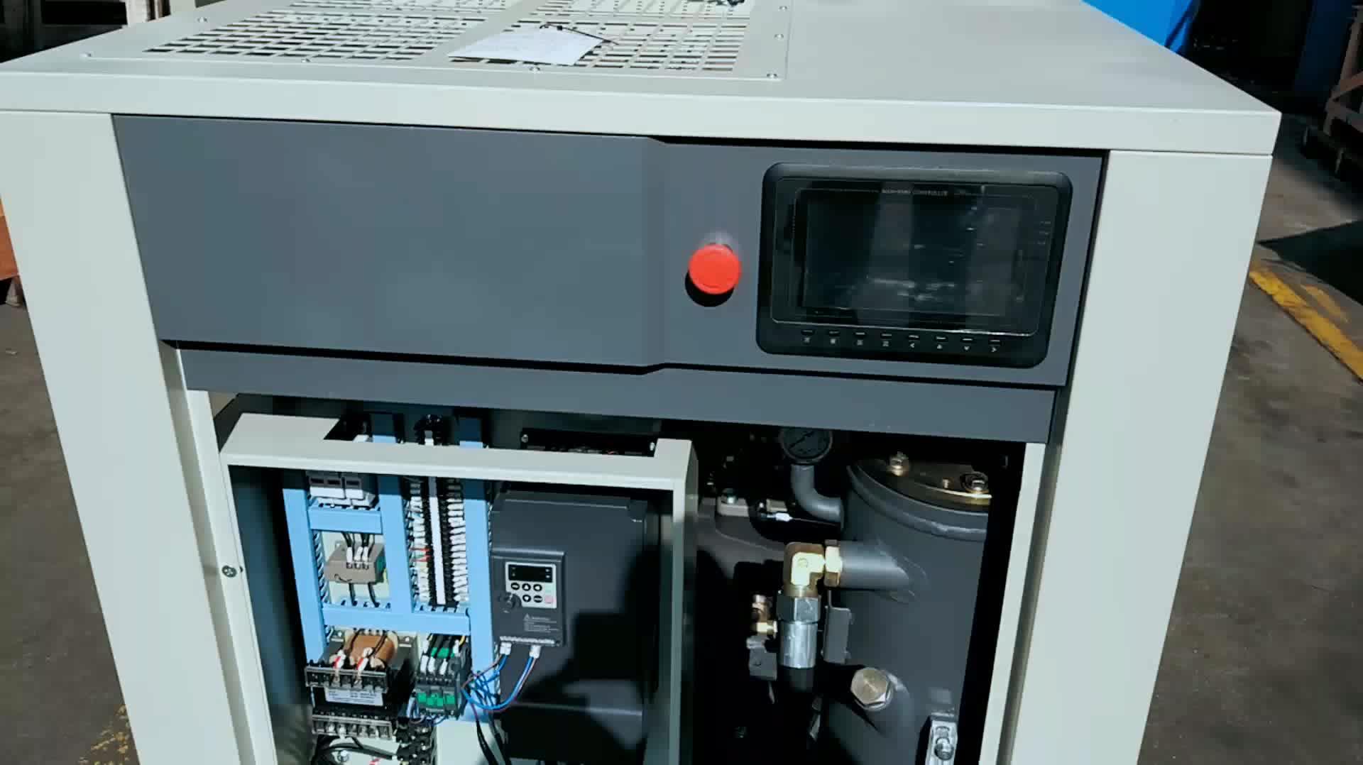 Vsd Schroef 15Kw 20HP Elektrische Luchtcompressor