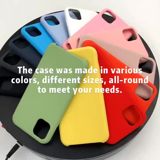 Mobile phone accessories soft silicone case for iphone 6 7 8 x xs max cover