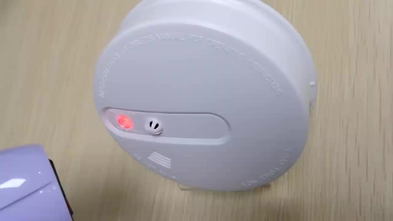 광전 화재 연기 경보 장치 9v 호텔 연기